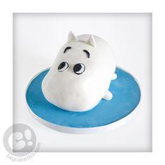 Moomin Tsum Tsum cake