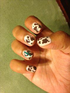 Western nail art