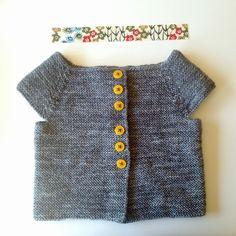 satsuma press — cap sleeve cardigan