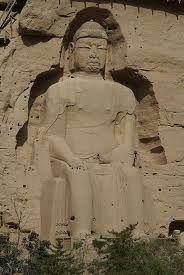 Budha at the ancient ruins of Taxilla.
