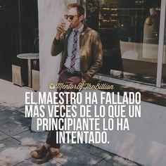 No solo lo intentes hasta lograrlo, inténtalo hasta ya no fallar  @mentorofthebillion  #frases #motivación #inspiración #éxito #mentorofthebillion