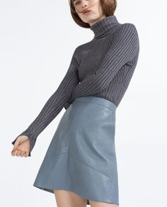 Image 4 of A-LINE SKIRT from Zara