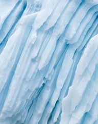 Ice Bergs! The textures of the Ice are simply amazing!  This seasons Inspiration  Condura Accessories || Texture