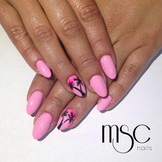 #mscnails #nails #uñas #palm #palmeras #nailart #naildesign #gelpolish #semilac #esmaltesemi #uñasacrilicas #acrylicnails