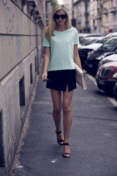 Cos top, Zara skirt by Tuula
