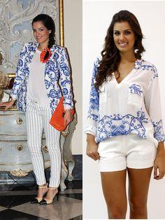 Trend - Estampa azulejo Português - Maria Alekas