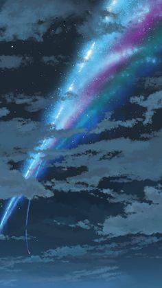 Your Name. (Kimi no na wa) Deluxe Edition / Original Motion Picture Soundtrack Kimi No Na Wa, Zen Zen Zense, Sparkle Movie, The Garden Of Words, Your Name Anime, Makoto, Spiritus, Anime Scenery, Fantasy City
