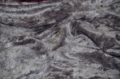 "PANNE VELVET CRUSHED BACKDROP VELOUR STRETCH FABRIC 60"" WIDE GREY BY THE YARD #luvfabrics"