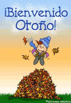 Resultado de imagen de gif animado otoño
