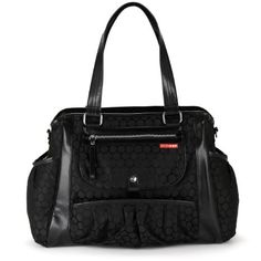 $110, Amazon, Skip Hop Studio Diaper Bag, Black Dot (Discontinued by Manufacturer)