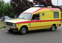 Lada 2107 Ambulance - Serbia And Montenegro. Retro Cars, Vintage Cars, Aigle Animal, Suzuki Carry, Emergency Vehicles, Car Crash, Car Engine, Police Cars, Concept Cars