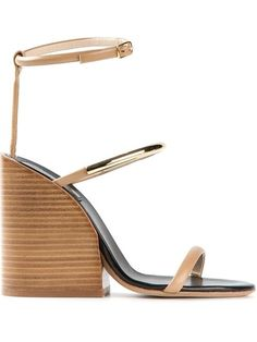 Shop Chloé chunky heel sandals in Il Bacio Di Stile from the world's best independent boutiques at farfetch.com. Over 1000 designers from 300 boutiques in one website.