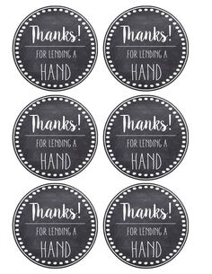 Thank You & Teacher Appreciation Tags Free Printable card. Attach to hand soap, hand lotion, a pedicure gift certificate, hand sanitizer, or nail polish. Teacher Gift Tags, Teacher Thank You, Your Teacher, Thank You Labels, Thank You Tags, Thank You Gifts, Volunteer Appreciation Gifts, Volunteer Gifts, Volunteer Teacher
