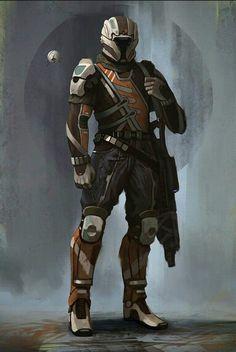 Special Ibumic Agent Adam Vossery