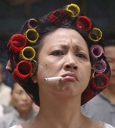 The Landlady from Kung Fu Hustle. I love her!!!!  for bill..............