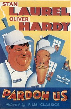 Funny movie quotes from Pardon Us, the Laurel and Hardy comedy, starring Stan Laurel, Oliver Hardy, James Finlayson, Walter Long http://bestcleanfunnyjokes.com/funny-movie-quotes-for-pardon-us/