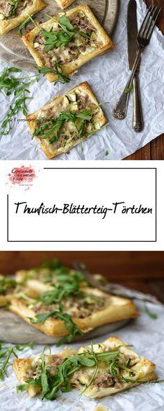 Thunfisch-Blätterteig-Törtchen | Rezept | Essen
