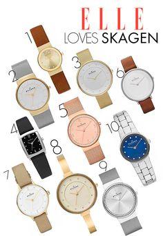 ELLE LOVES SKAGEN #ELLELovesSkagen @WatchRepublic @ELLEMagazineSA.