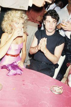 Elterman obtenía credenciales como fotógrafo para muchos eventos, y entre ellos consiguió una para la fiesta de la premiere de Grease en 1978 en los estudios Paramount, donde tomó la famosa foto de Olivia Newton con John Travolta