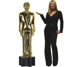 Awards Night Statue Cutout | Windy City Novelties