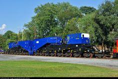 RailPictures.Net Photo: WECX 801 Norfolk Southern Schnabel Car at Shepherdstown, West Virginia by Kenneth Lehman