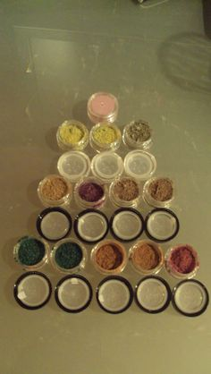 homemade mineral eyeshadow