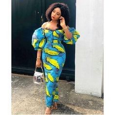 African Fashion Ankara, African Inspired Fashion, Latest African Fashion Dresses, African Dresses For Women, African Print Fashion, African Attire, African Women, African Style Clothing, African Wear For Ladies