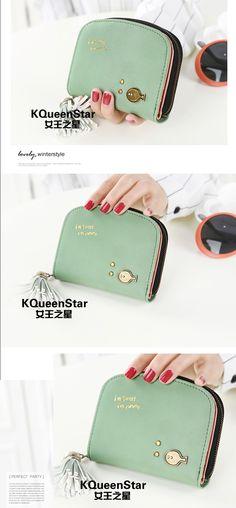eca94139d Mulheres carteiras pequeno Zipper Coin bolsas carteira bolsa feminina bolsa  em Carteiras de Bagagem & Bags no AliExpress.com | Alibaba Group