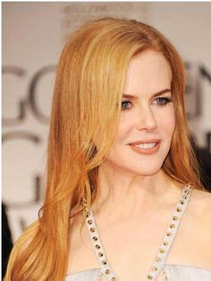 Recipes, Craft, Fashion, Beauty, Diet and more - Prima Strawberry Blonde Hair, Nicole Kidman, Golden Globes, Red Hair, Pretty Girls, Your Hair, Eye Makeup, Blonde Hairstyles, Hair Styles