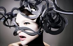 Designer: Philip Treacy | photographer: Richard Burbridge | Italian Vogue 2011