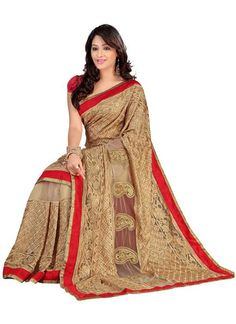 #Ready To Ship #PartyWear Saree !!  #Free #Shipping !! Free #COD !!  Click here to #shop : http://bit.ly/1j90VvP #WhatsApp Us To Buy On : 093744 77776