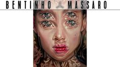 Bentinho Massaro The Doubling Effect Abstract Portrait Painting Eye Painting Surrealism Painting