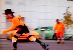 Prince roller skating