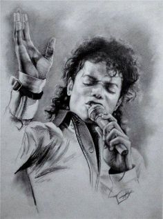 Art with Soul - Black and White - Michael Jackson by Max Popov Michael Jackson Drawings, Michael Jackson Art, Michael Love, Michael Art, Mike Jackson, Celebrity Drawings, Amazing Drawings, Art World, Great Artists