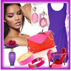 Lavender Beauty, created by jacque-reid on Polyvore