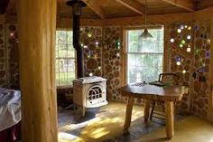 cordwood cabin roy - Google Search