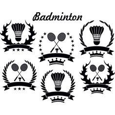 Free Vector illustration of Vintage style Olympics Badminton logo symbol template illustration 50022-Vector-vintage-style-Badminton-logo 50022-Vector-vintage-style-Badminton-logo