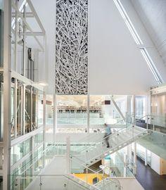Monique Corriveau-Library / Dan Hanganu + Côté Leahy Cardas Architects. Quebec, Canadá