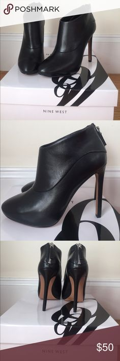 """**BRAND NEW** Nine West Ankle Boots These ankle boots are the perfect fall staple! 4"""" inch heel and never been worn. This ships in original Nine West box. Nine West Shoes Ankle Boots & Booties"""