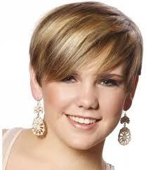 Image result for short hair with blonde highlights
