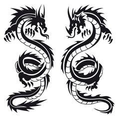 dragon tattoo design - Buscar con Google