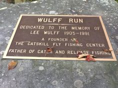 Wulff Run on the Willowemoc just in front of the Center