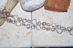 Chainmaille Silver Wirework Bracelet by LadyJsOddsAndEnds on Etsy