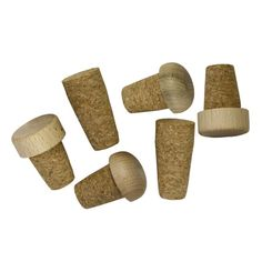 Don't let your wines go to waste just because you've lost the bottle cork. This set of six replacement corks from Tablecraft fit most bottles and ensures your wines don't go bad. They come in various sizes and shapes and have a charming old-time design that's sure to please.