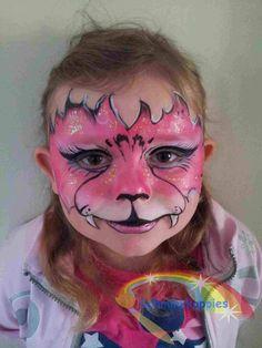 Tiger inspired by Mark Reid  Schminkkoppies Marielle Heuft