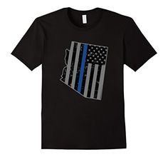 Arizona Police & Law Enforcement Officer Thin Blue Line - Male Small - Black Shoppzee Police Tees http://www.amazon.com/dp/B016X3BDBC/ref=cm_sw_r_pi_dp_XI9Swb1JTQWGN