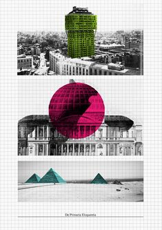 """minima et moralia"" 019 - by Carlalberto Amadori architecture collage on contemporary urban issue"
