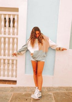 SHEIN offers Bikini Tops & more to fit your fashionable needs. Teenage Outfits, Lazy Outfits, Cute Comfy Outfits, Teen Fashion Outfits, Mode Outfits, Everyday Outfits, Look Fashion, Outfits For Teens, Stylish Outfits