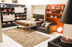 Love the versatility of this furniture and if you are considering downsizing, a perfect solution for small spaces.