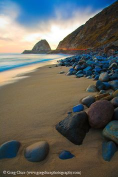 Mugu Rock....just coming into Oxnard/Camarillo, California